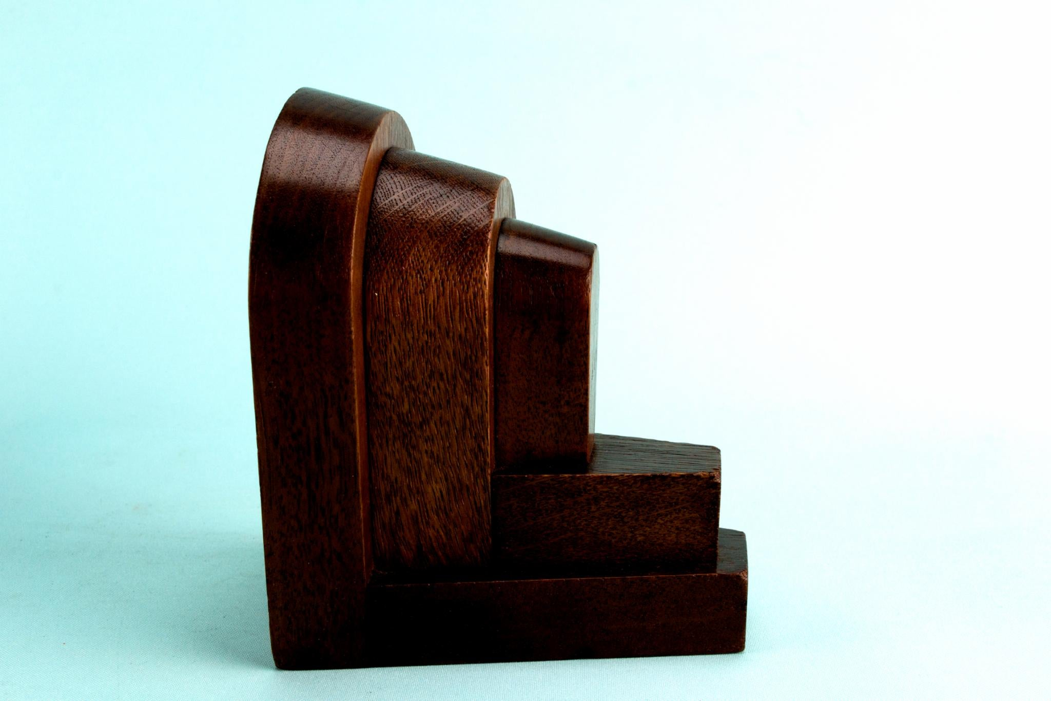 1960s Mid-Century Modern Wooden Bookends