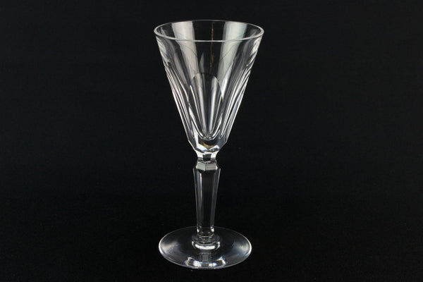 5 Waterford crystal port glasses