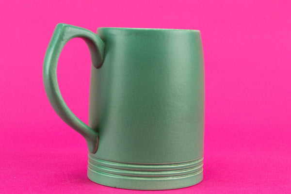 Wedgwood Keith Murray green tankard, English 1930s