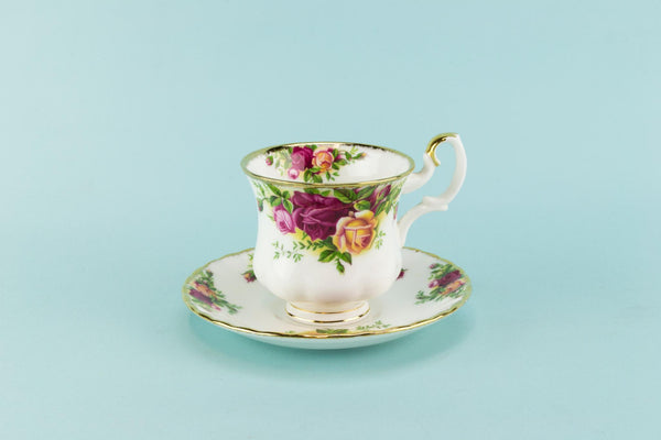 Royal Albert coffee cup and saucer 1960s
