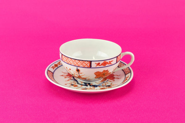 Chinese porcelain tea set for two 1930s
