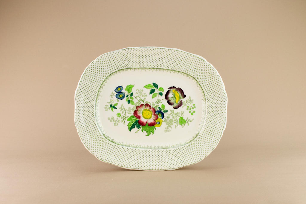 Masons Paynsley medium platter, English 1970s