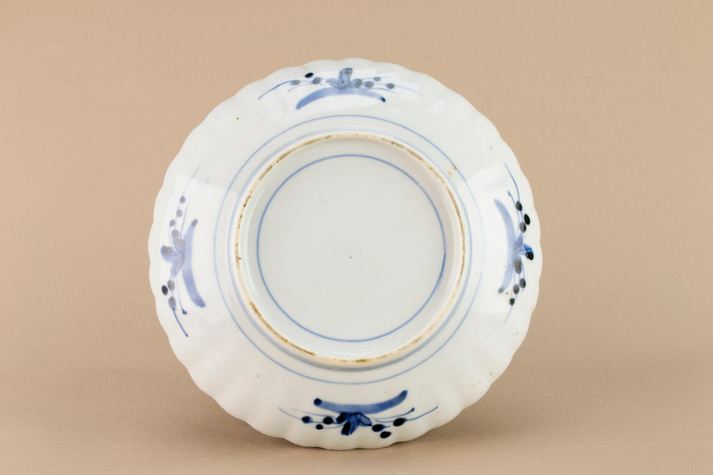 Imari porcelain dish, Chinese Early 1900s