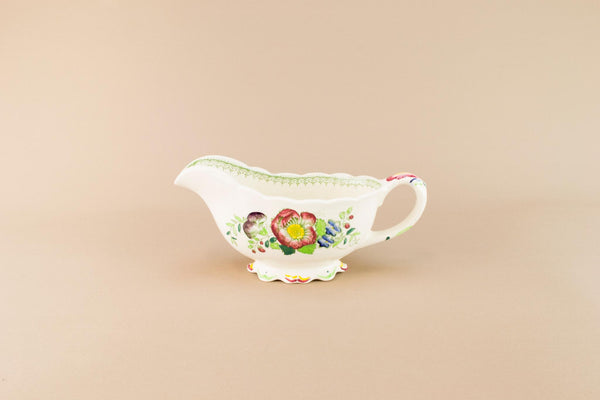 Masons Paynsley gravy boat, English 1970s