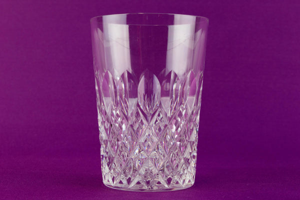 Cut glass Stuart Crystal Whisky Tumbler