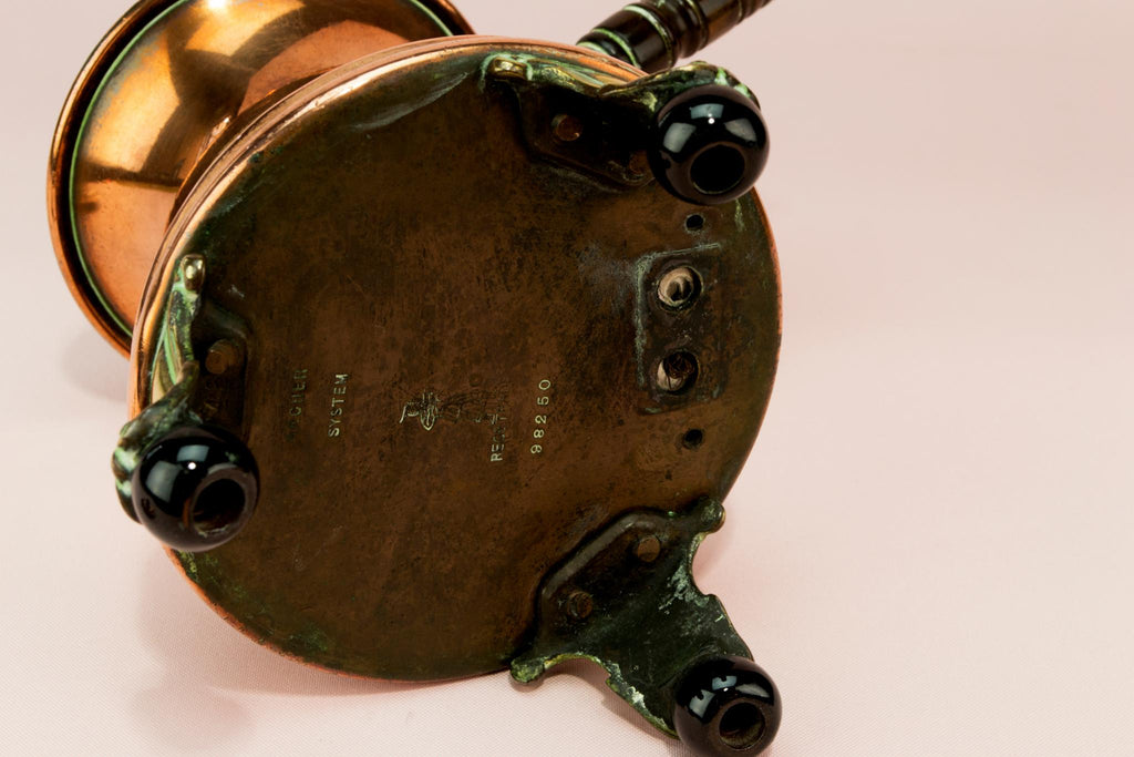 Arts & Crafts Copper Coffee Pot, English 1890s