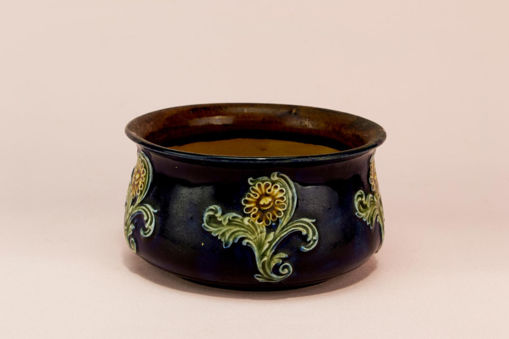 Royal Doulton small planter, English circa 1900