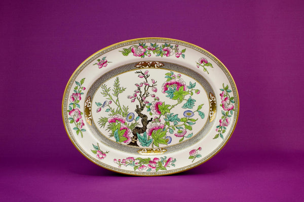 Large Mintons serving platter, English circa 1910