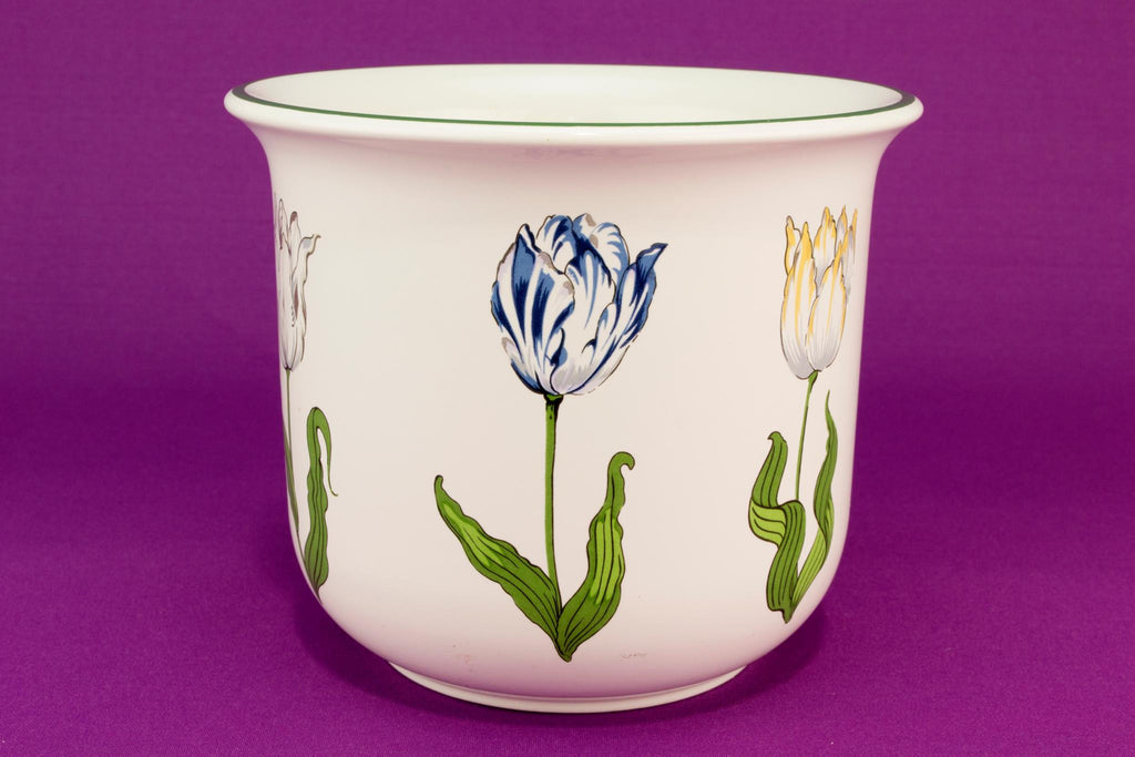 Tiffany Tulips flower pot or planter