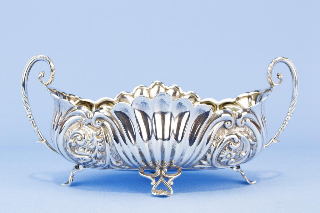 Sterling Silver Art Nouveau bowl, English 1892