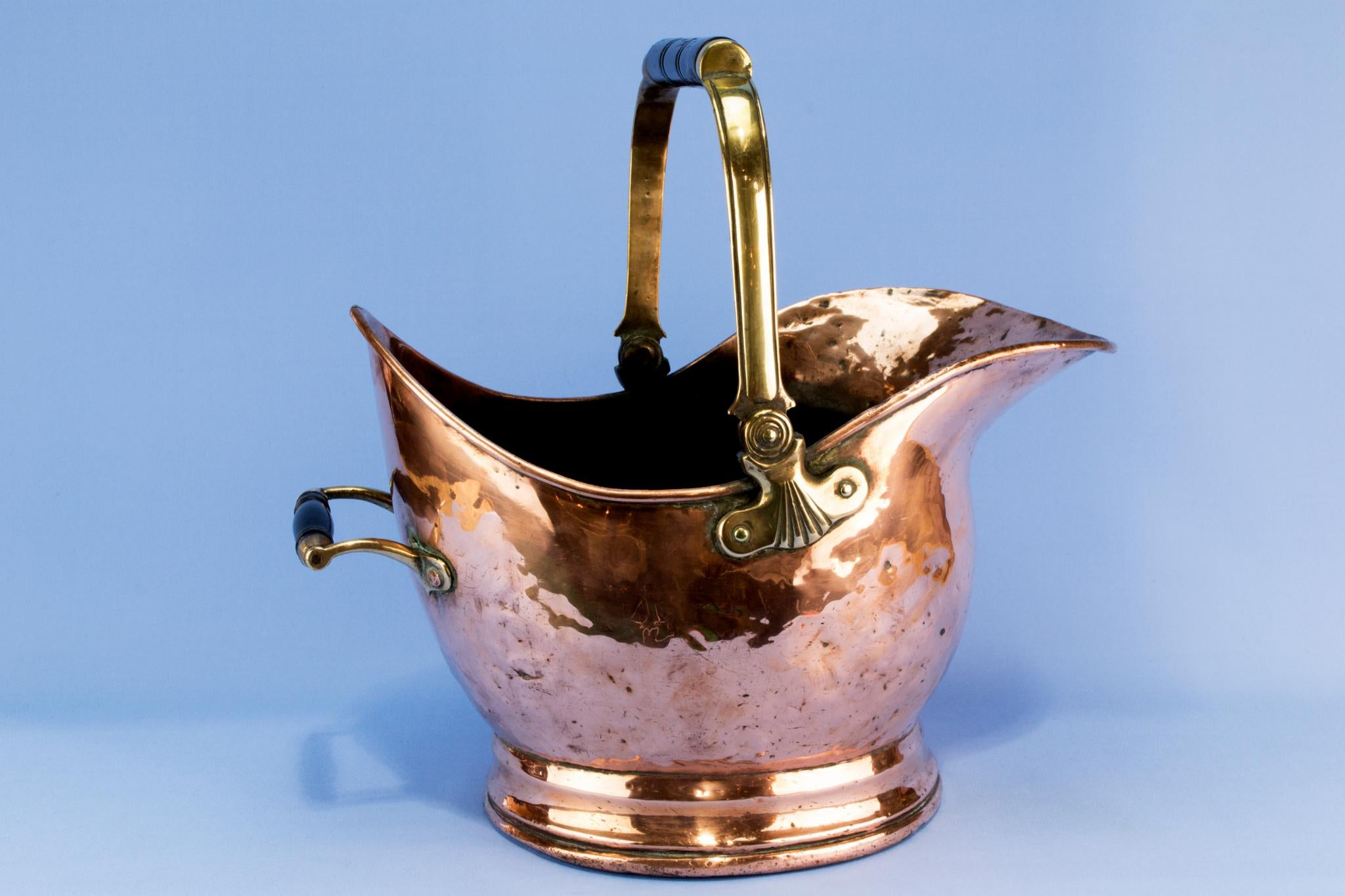 Large copper wine & champagne cooler, English 19th century