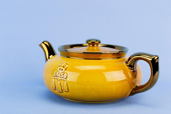 Boston Tea Party Teapot, English 1970s