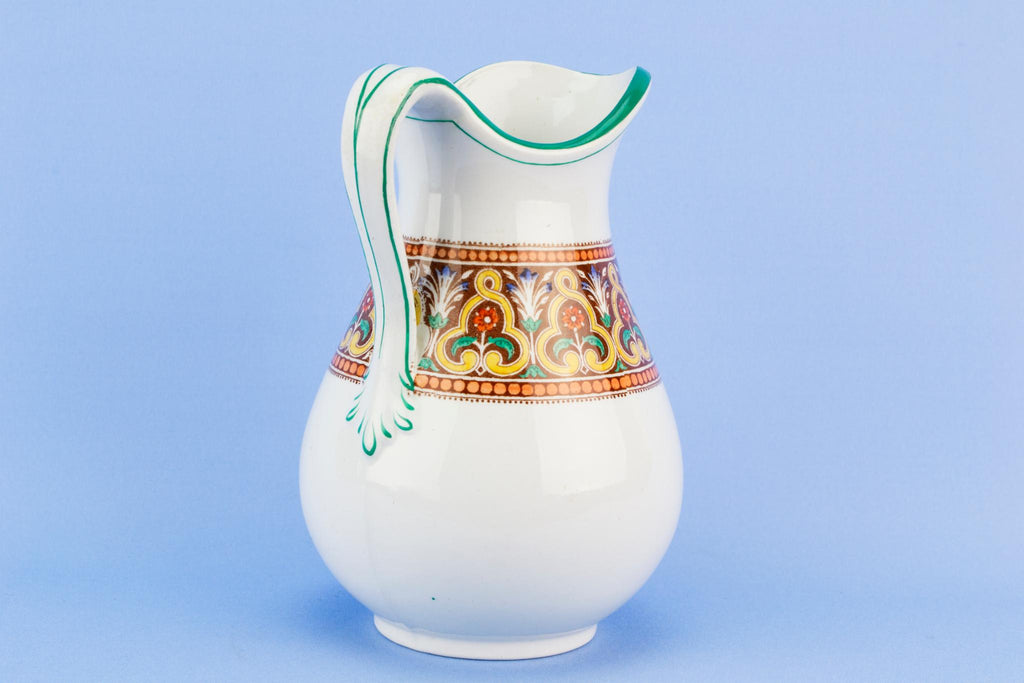 Small ceramic jug, English circa 1870