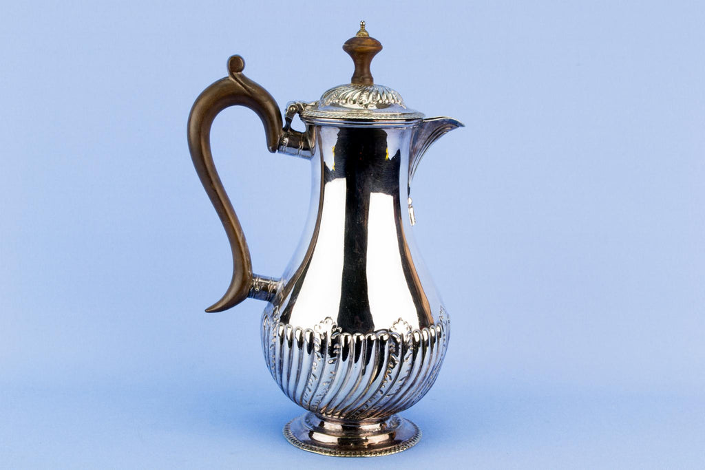 Silver plated coffee pot by Mappin Brothers, English 1930s