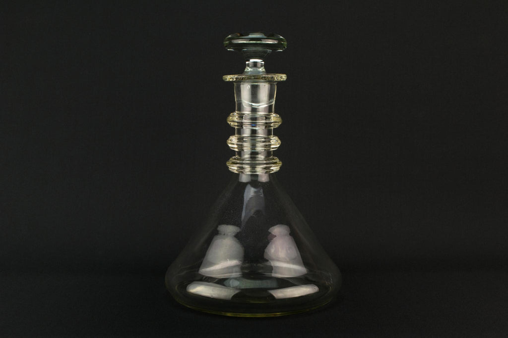 Blown Glass Large Wine Decanter