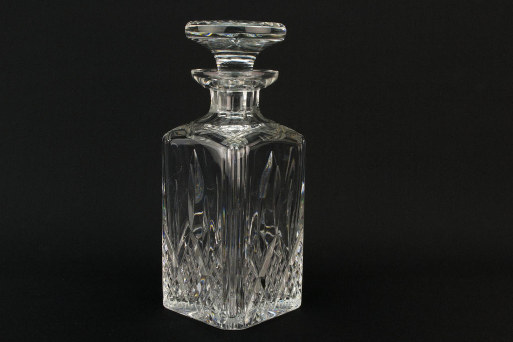Stuart Cut Glass Medium Square Decanter