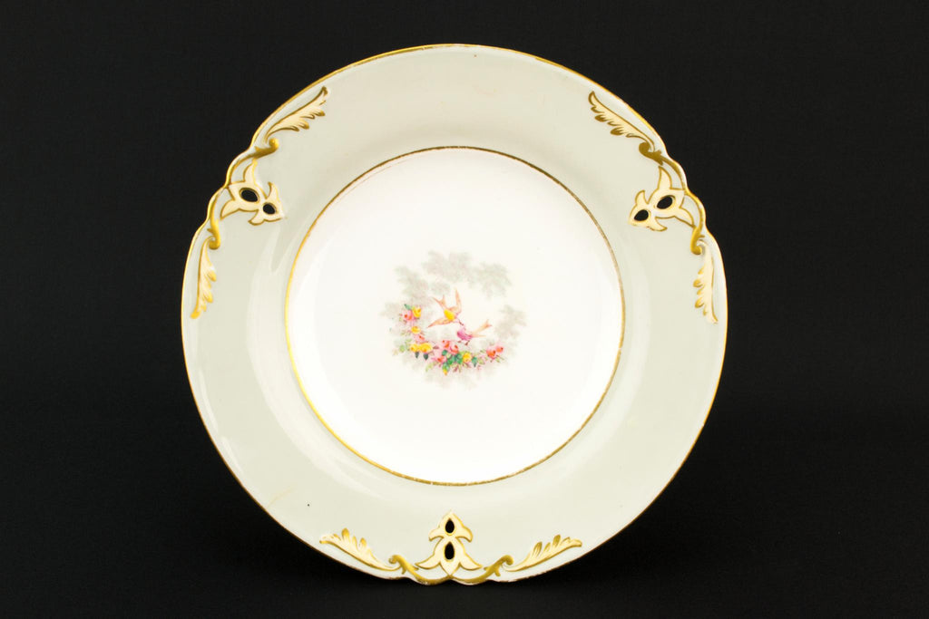 Bone China Medium Victorian Cake Stand, English Late 19th Century