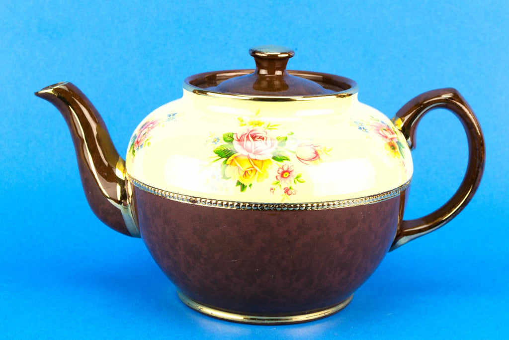 Globular Medium Teapot by Sadler, English 1950s