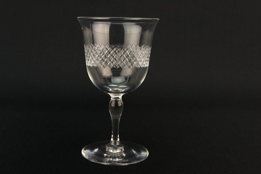 Set Of 6 Port Glass by Webb Corbett
