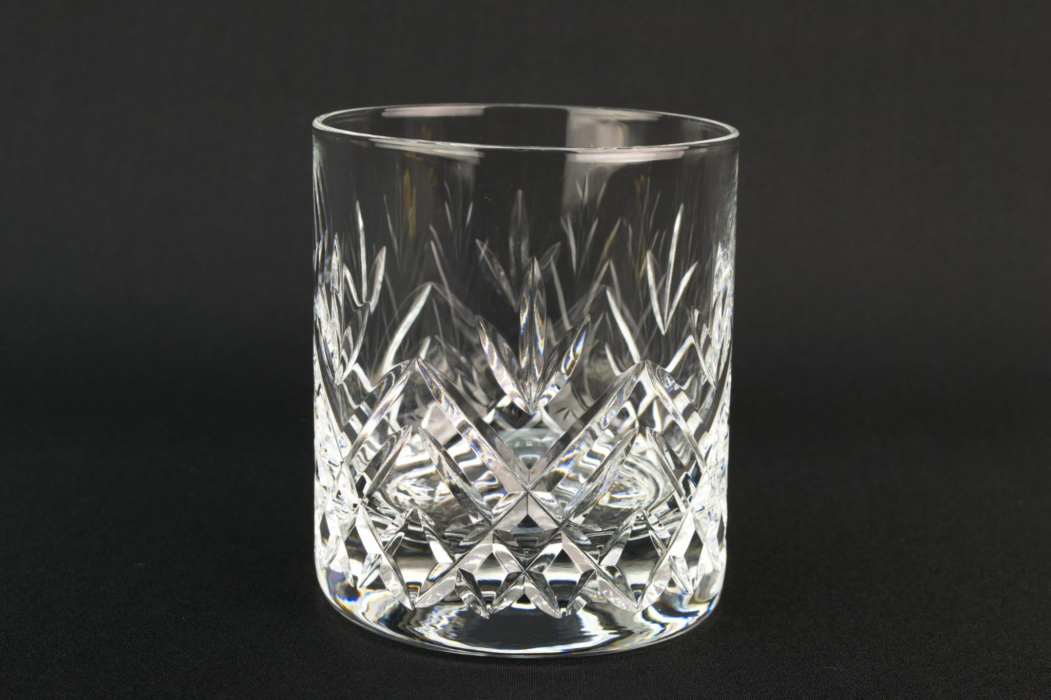 6 Edinburgh Crystal Whisky Glasses