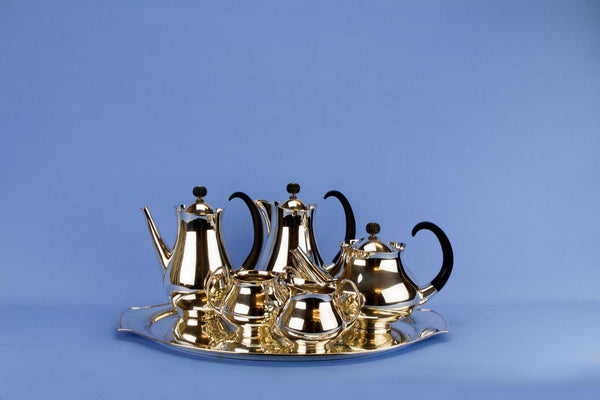 Eric Clementy Designed Mappin & Webb Silver Plated Tea Set