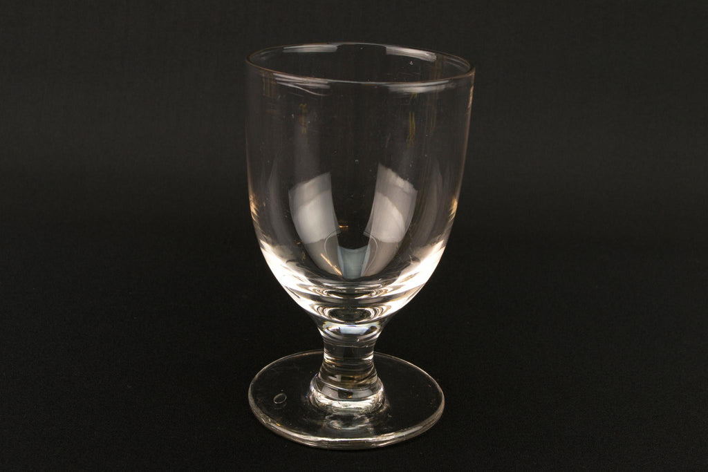 Blown Glass Wine Rummer, English Mid 19th Century