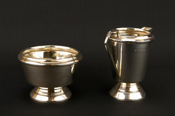 Sterling Silver Tea Set by George Boot, English 1937