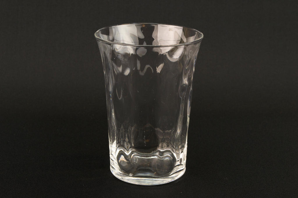 2 Medium Whisky Glasses, English 1930s