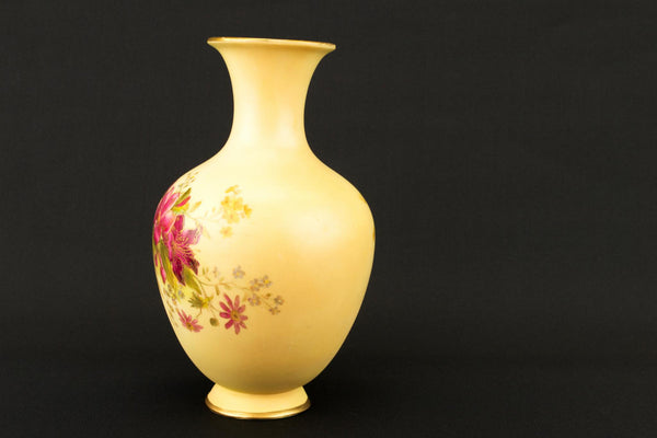 Royal Worcester Bone China Vase, English Circa 1910