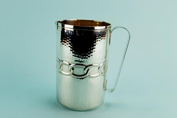 Medium Water Jug Italian Silver Plate
