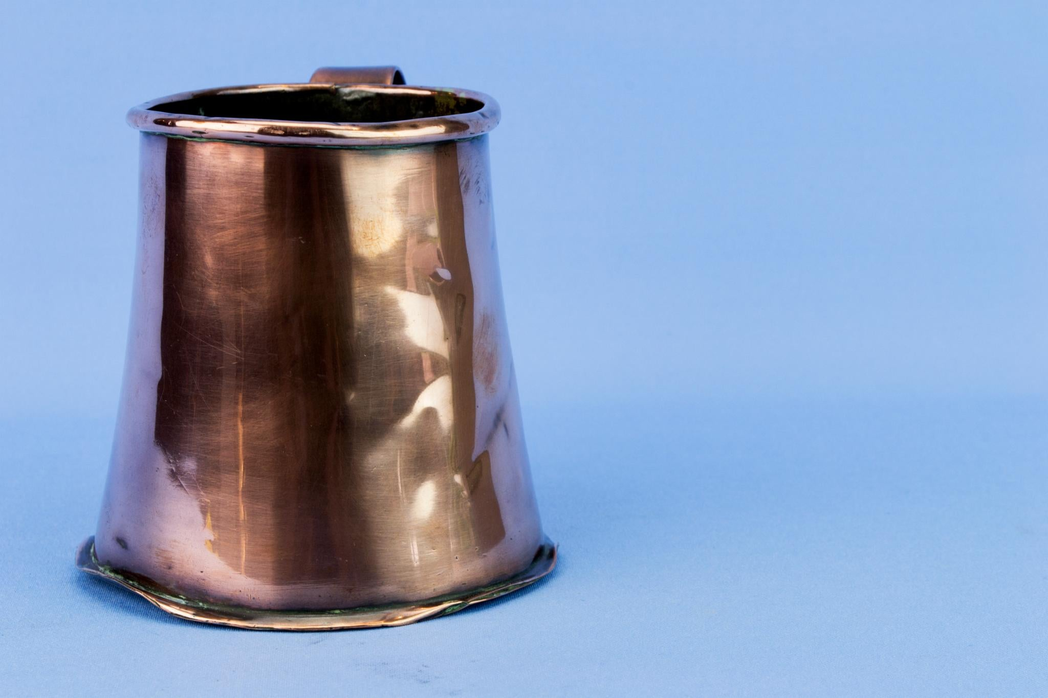Medium Arts & Crafts Copper Tankard, English Circa 1900