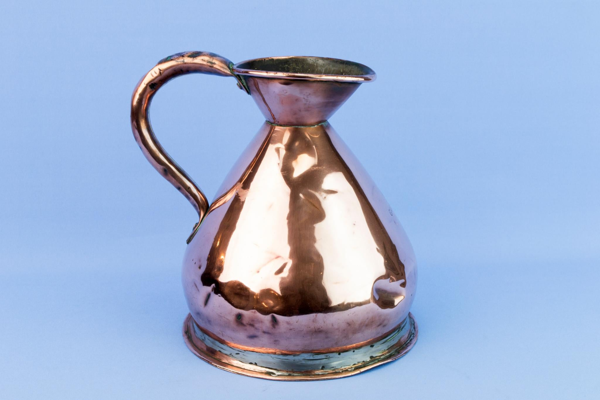 Victorian Large Copper Jug, English 19th Century