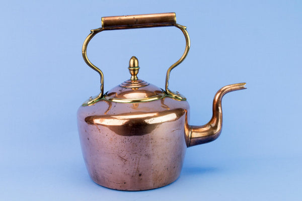Large Copper Kettle, English 1870s