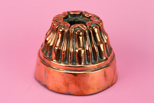 Medium Dome Copper Baking Mould, English 19th Century