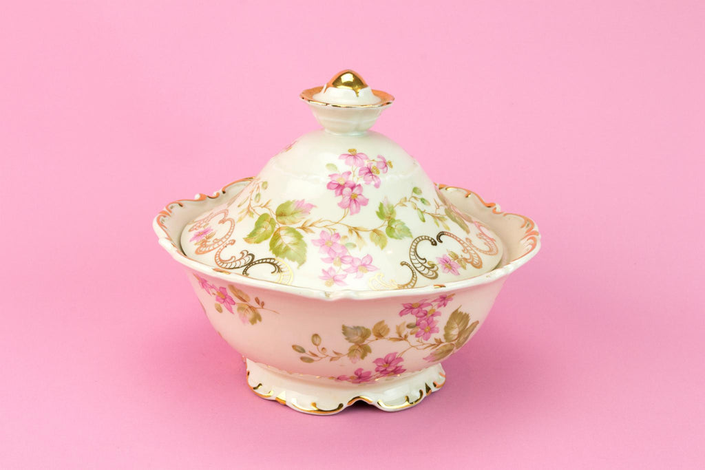 Mitterteich Porcelain Medium Tureen, German 1930s