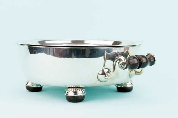 Silver Plated Composite Serving Dish, English Early 1800s