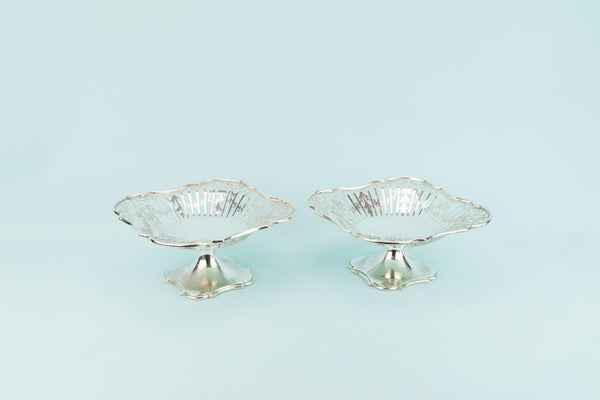 2 Silver Plated Serving Dishes by Elkington, English 1920s