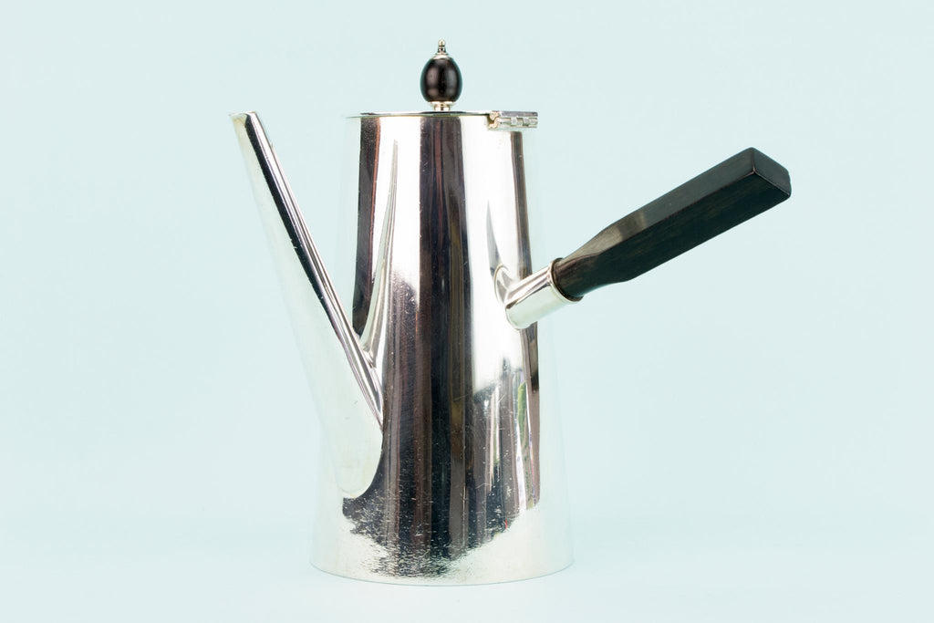 Christopher Dresser Silver Plated Coffee Pot, English 1870s