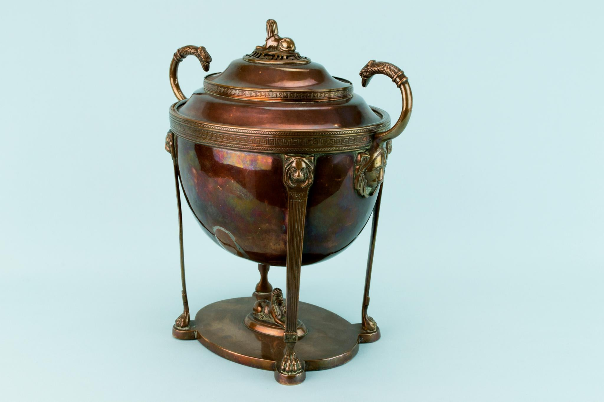 Regency Bronze Decorative Urn, English Early 1800s