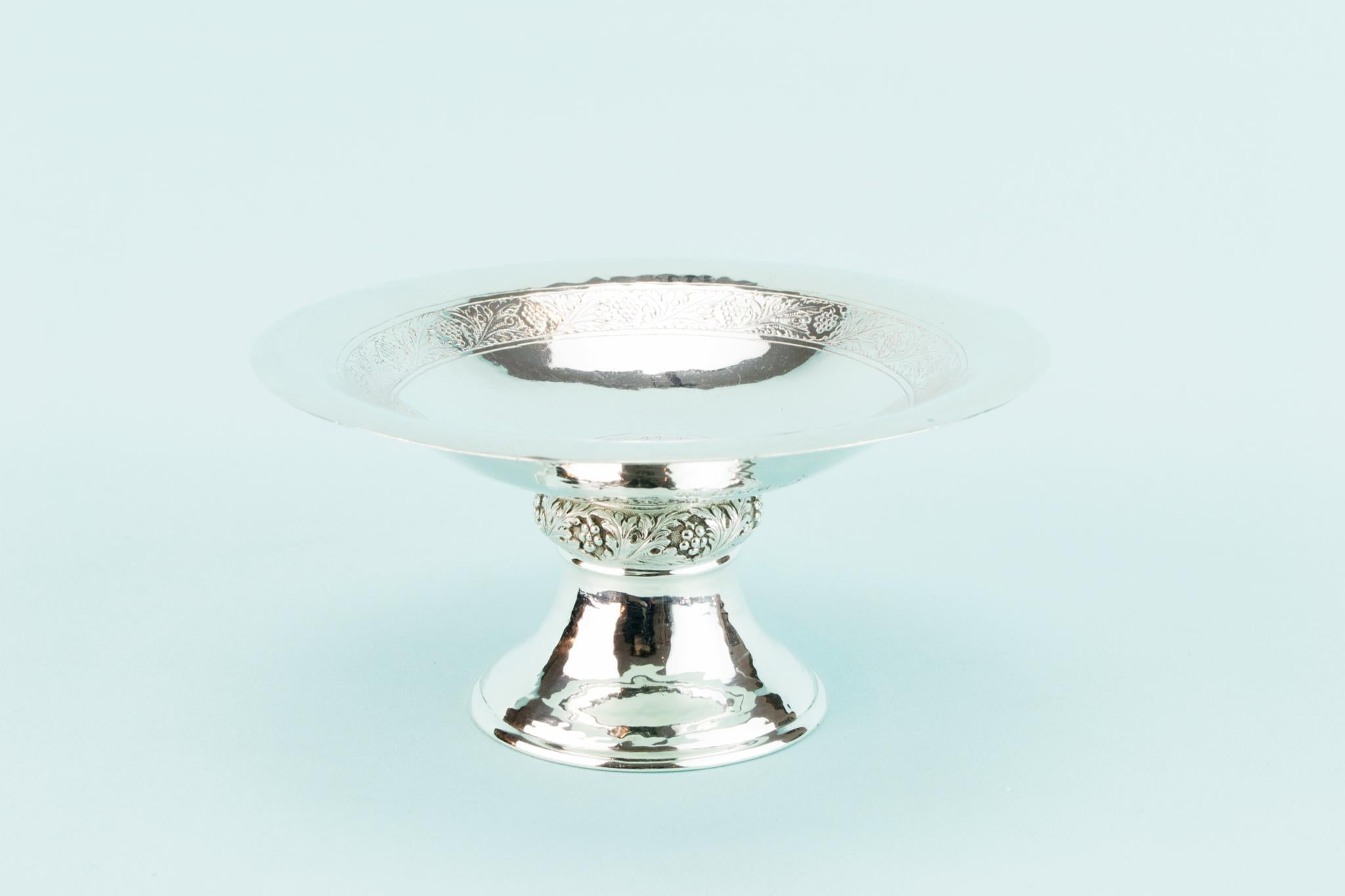 Sterling Silver Small Serving Dish, English 1934