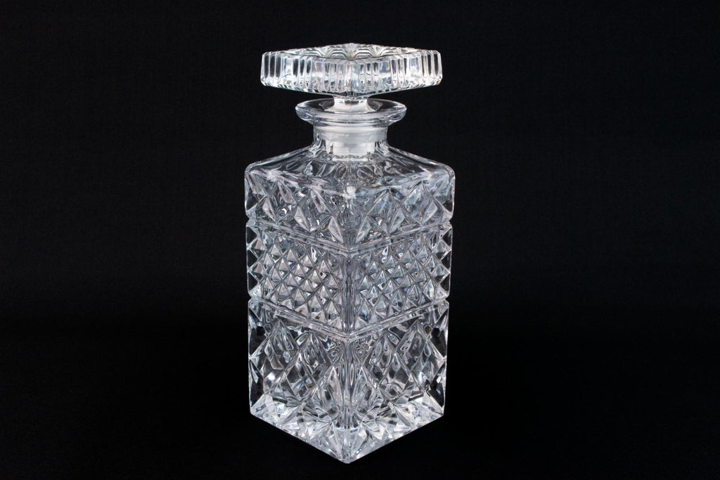 Square Glass Whisky Decanter