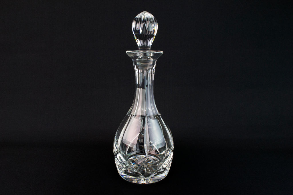 Wine Decanter in Cut Glass