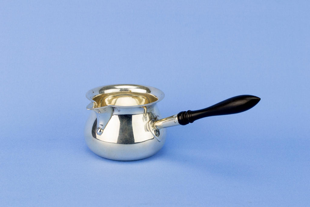 Sterling Silver Brandy Warmer, English 1912