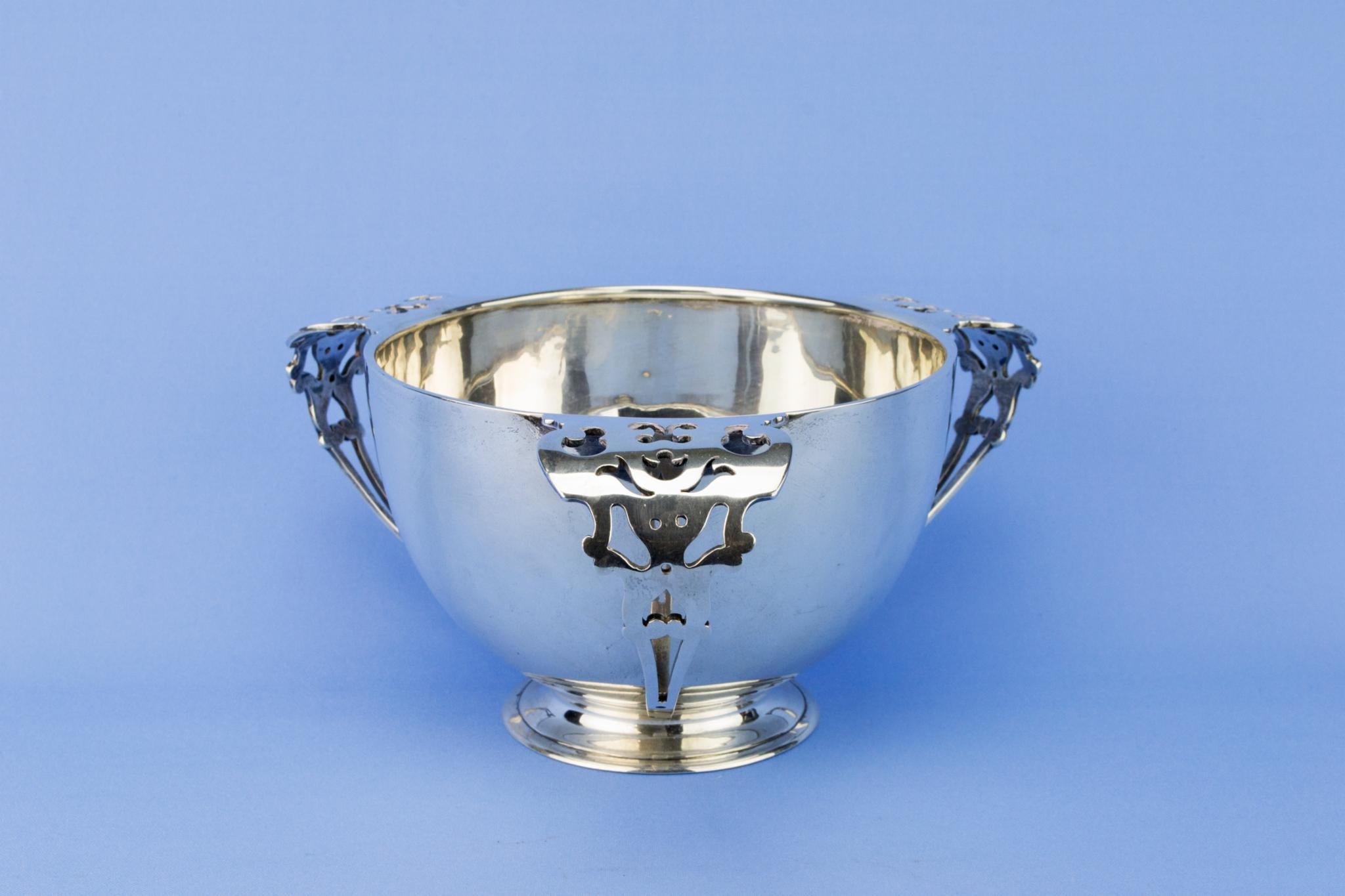 Sterling Silver Ice Bucket, English 1904