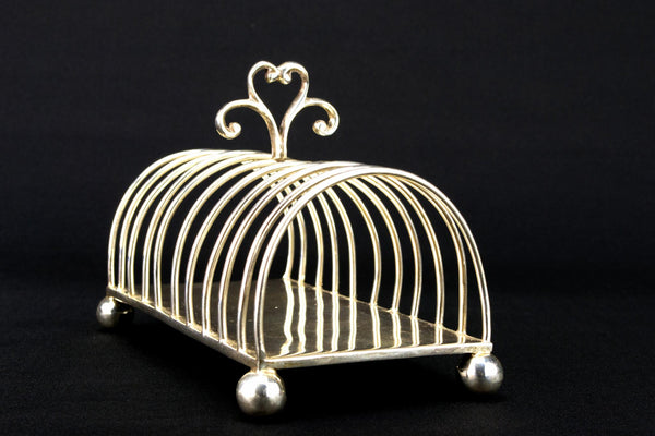 Solid Sterling Silver Large Toast Rack