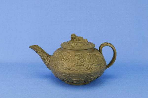 Tactile Teapot by Wedgwood, English 1820s