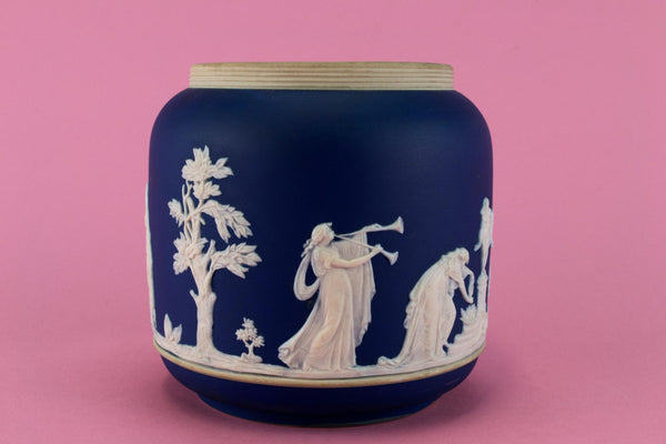 Jasperware Ice Bucket by Adams, English Circa 1900