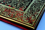 Tortoiseshell & Brass Boulle Work Writing Pad, English Circa 1830
