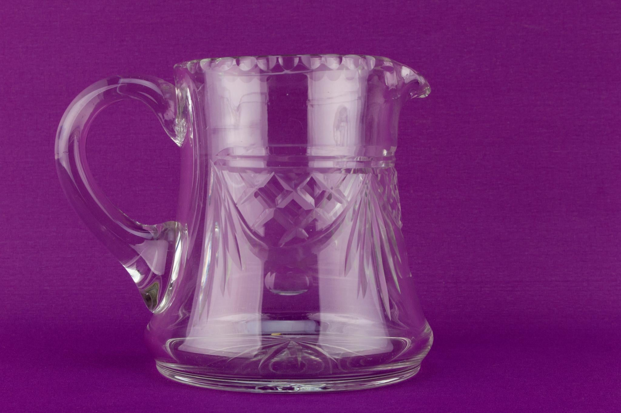 Cut Glass Water Jug