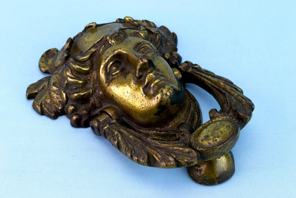 Bronze Door Knocker, French Circa 1900